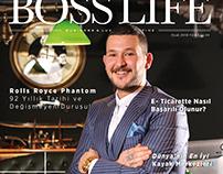 Muhammed Atakan Dikmetaş - Ocak 2018 Boss Life Kapak