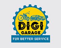 DIGI Garage - Logo Design