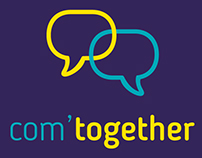 Com'Together : logo affiche et site