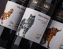 Wine design «Imagine»/Дизайн этикеток вина «Imagine»