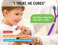 Flyer Design for Indian Famous Doctors