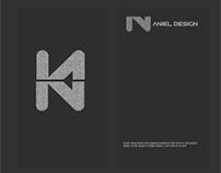 Card Business for Aniel Design Studio Tirana Albania
