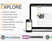 Explore - Responsive WordPress Theme