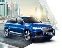 Audi Q7 Campaign 2014 Print