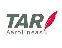 TAR Aerolíneas - Social Media