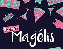Affiche soirée Magélis