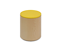 Polygon Storage - Cylinder Side Table