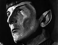 Mr. Spock Portrait