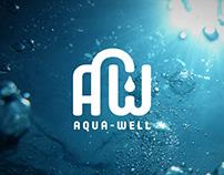 Branding Aqua-well / logotype / brandbook / logo design