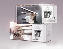 PACKAGE DESIGN.HOME & KITCHEN.POTATO RICER