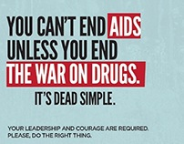 Ad: BC Centre for Excellence in AIDS/HIV – Dead Simple