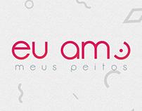 EU AMO MEUS PEITOS | LOGO REDESIGN PROJECT