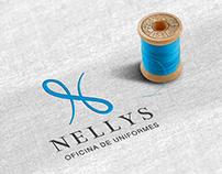 Identidade Visual: Nellys Oficina de Uniformes