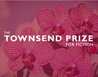 Townsend Prize for Fiction Event Collateral