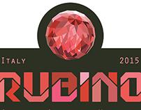 Rubino Wine Label