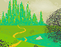 The Emerald City - Pixel art