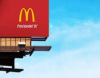 Spec Billboards for McDonalds