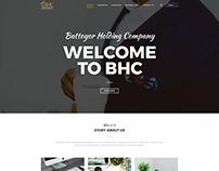 BHC Website Redesign Concept