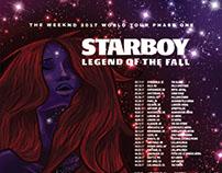 Starboy World Tour Poster