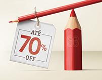 Campanha - Liquidação do Lápis Vermelho