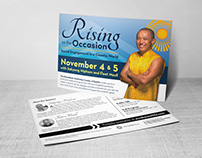Rising to the Occasion Print & Digital Marketing Assets