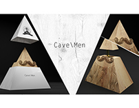 Cave\Men Beard Oil Package Design