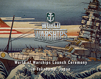 "Wargaming.net ""World of Warships"" Launch Ceremony"