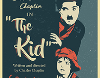 The Kid - Illustration Vintage Poster