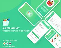 Supper Market Grocery Shop App UI