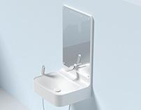 Hansgrohe New Generation Washbasin + Dryer