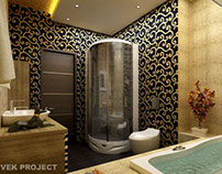 Bathroom with Vek Project