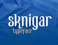 SK Nigar Typeface