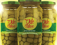 Azeitonas Vile Olive Packaging Concept 3D