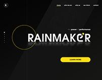 Rainmaker Landing Page