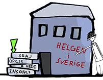 Helgen i Sverige   Flash game