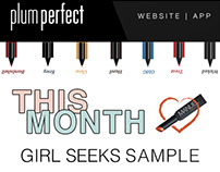 Email Newsletter Design - Plum Perfect