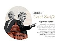 ABD'den Cevat Zarif'e Yaptırım Kararı