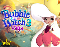 """Bubble Witch 3 Saga"" Characters"