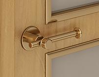 Door handle - Bella Parte