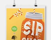 Assorted Posters for Whole Foods Market