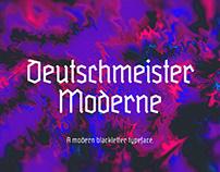 Deutschmeister Moderne | Free Typeface