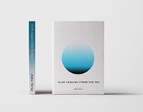 Jules Verne - Minimal Book Covers