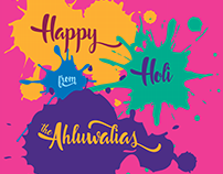 Holi Animation