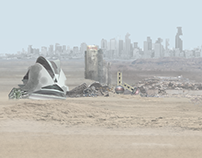 Post-apocalyptic Matte Painting