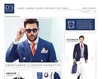 D'S Damat SS15 Website Design