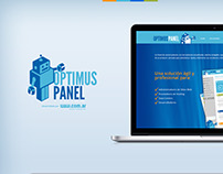 Optimus Panel, diseño de logo y página web