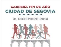 Cartel Carrera Fin de Año Ciudad de Segovia