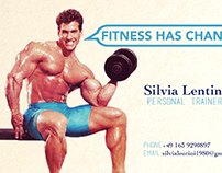 SHIATSU and FITNESS BUSINESS CARD