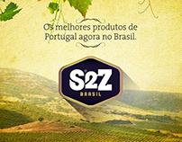 S2Z Trading Brazil // Branding and Responsive Website