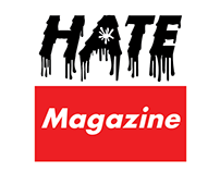 """Hate"" Magazine Logos"